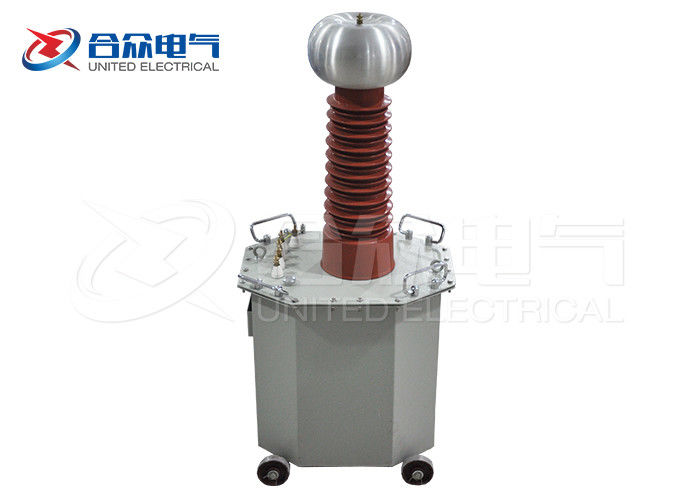 Oil Immersed Power Frequency DC / AC Test Transformer High