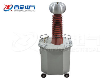 China Oil Immersed Power Frequency DC / AC Test Transformer High Voltage Measurement Equipment distributor
