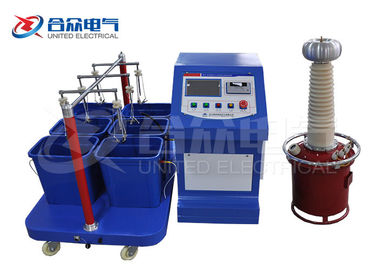 China Automatic Insulated Boots / Gloves Withstand Strength High Voltage Test System distributor