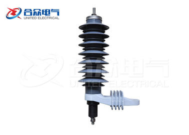 China Moisture Proof Polymer Surge Arrester for Cable Connector / Distribution Transformer factory