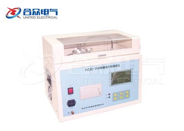 China Automatic Transformer Oil Testing Equipment , Insulation Dielectric Loss Tan Delta Tester factory