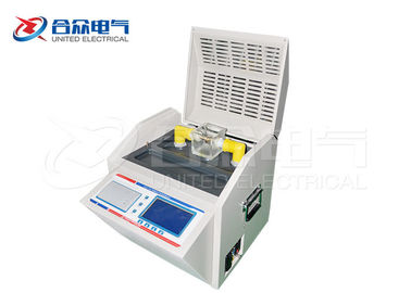 China IEC-156 Standard Insulating Transformer Oil Testing Equipment Anti - Interference factory