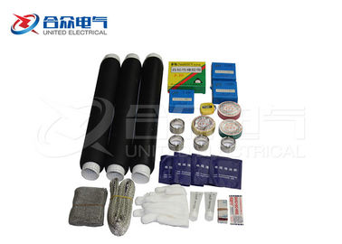 China 12 / 24KV Electric Cable Accessories , Rubber Straight Cold Shrinkable Joint factory