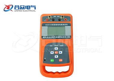 China Dual - Clamp Electrical Test Equipment Multi - function Earth Resistance Tester factory