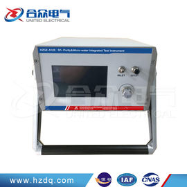 China 3 In 1 Sf6 Gas Analyzer High Precision For Dew Point Ppm Purity Decomposition factory